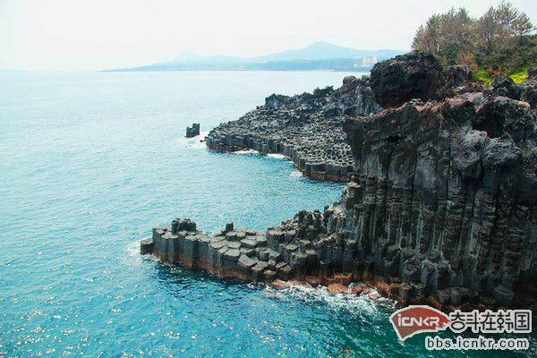 济州岛美食:黑猪肉一条街和生鱼片是济州岛最