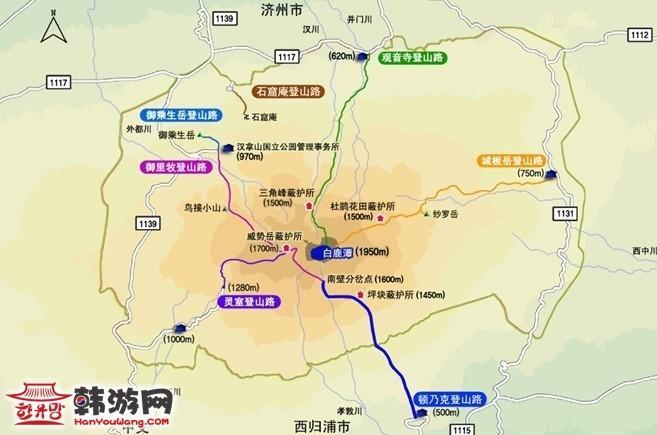 韩国济州岛五天环岛自驾游-路线篇