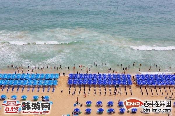 釜山 海云台海水浴场