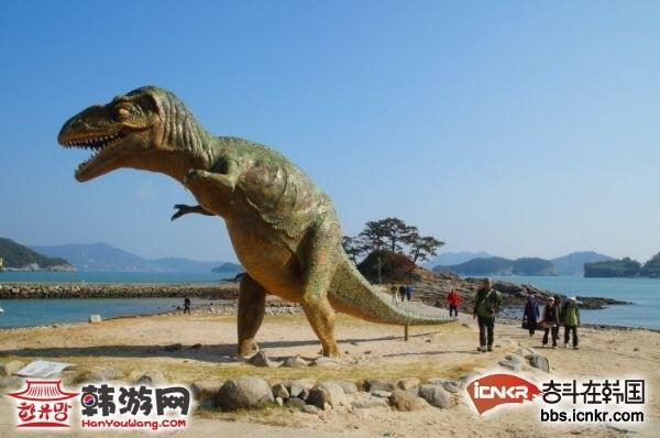 韩国全罗南道丽水恐龙岛
