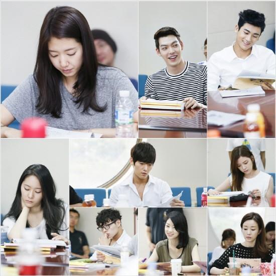 李敏镐,朴信惠,郑秀晶等偶像明星打造韩剧《继承者》
