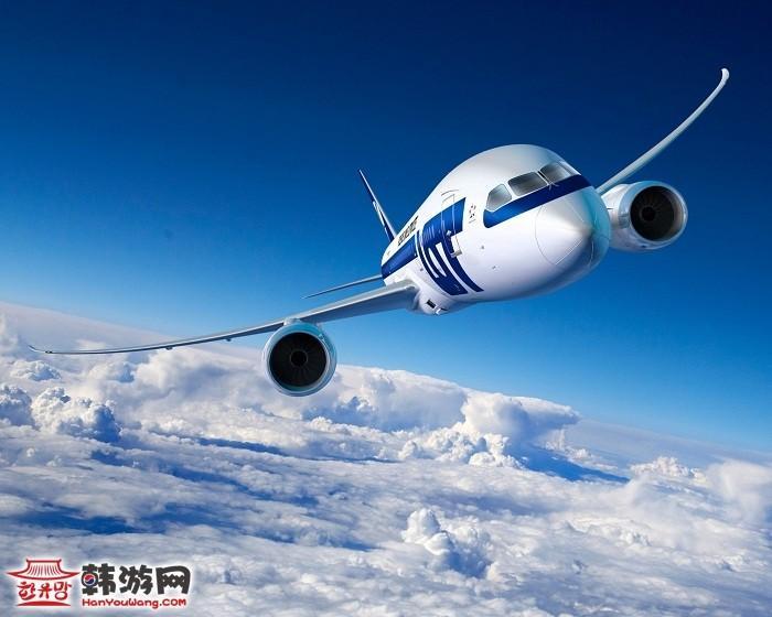 韩国冬季航班时刻表出炉
