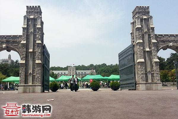 排名前三名的韩国最大的综合性大学之一,建校于1905年,原名为普成专业